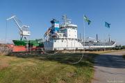 Lotus och Eken i Vänersborgs hamn
