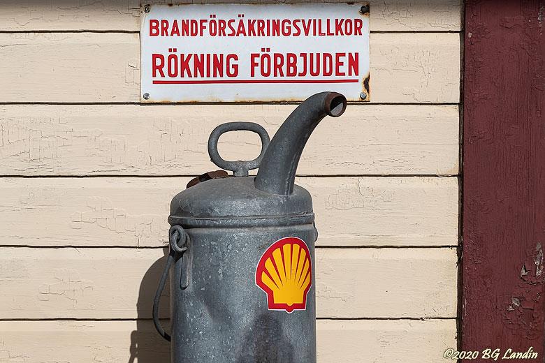 Gammal bränsledunk