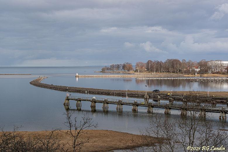Inloppet till Vänersborgs hamn
