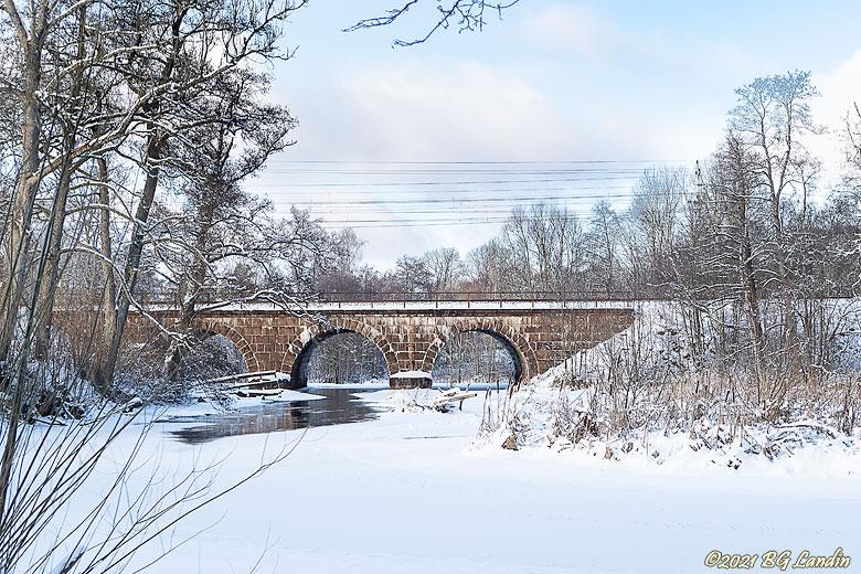 Järnvägsbro över Nossan