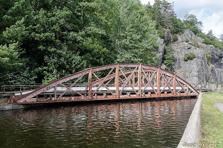 Järnvägsbro i Jonsered