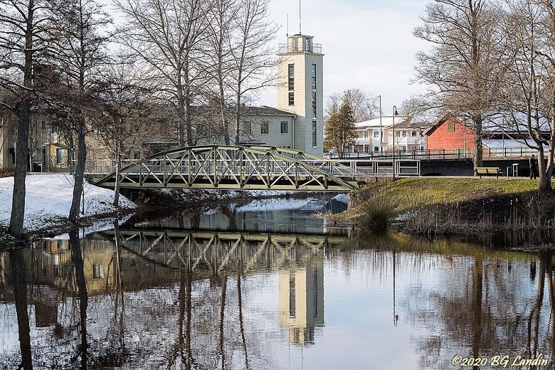 Järnvägsbron i Nossebro