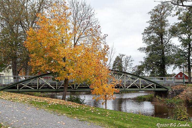 Järnvägsbro i Nossebro