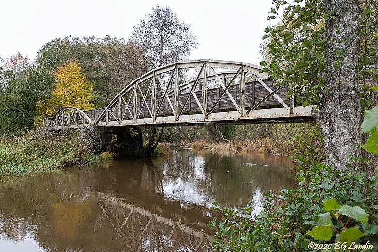 Järnvägsbron i Tråvad