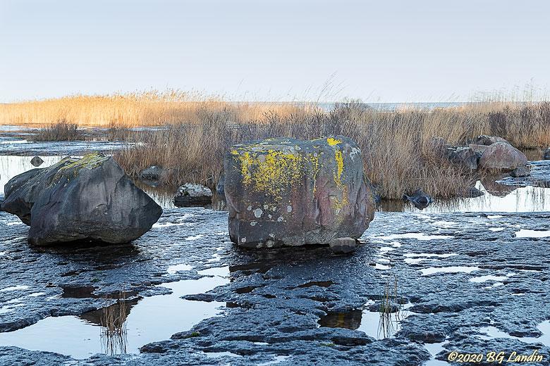 Lavaprydda stenar på peneplanet