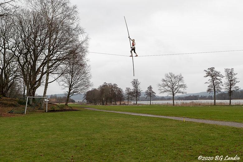 Lindansaren i Holzhausens park