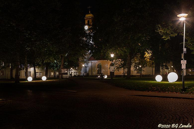 Ljusbollar vid Christinae Kyrka