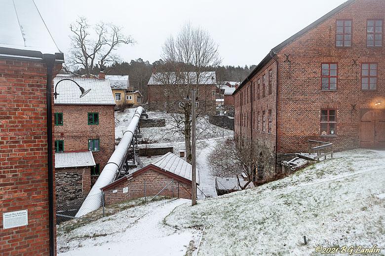 Vinter vid Nääs fabriker
