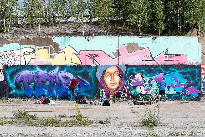 Ny graffiti skapas