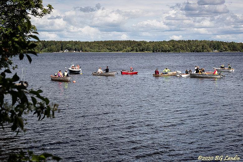 Samling på sjön