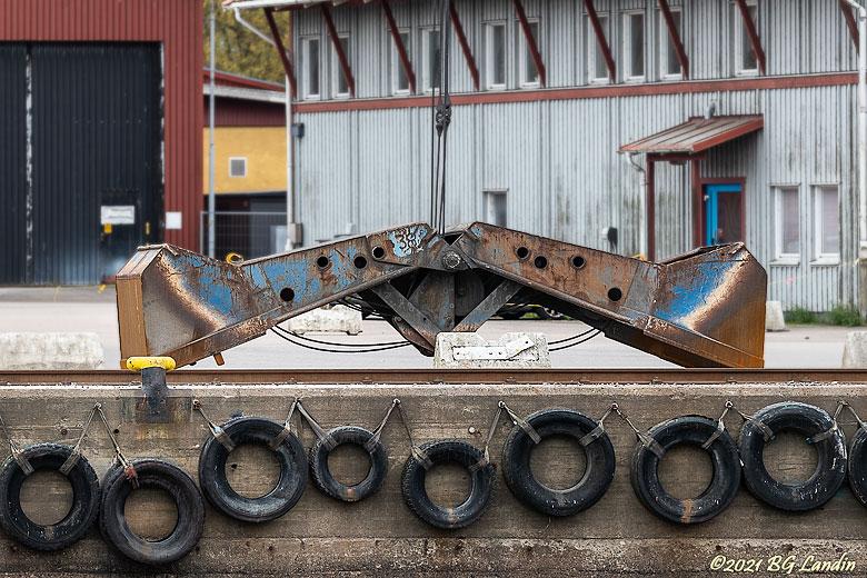 Skopa i Vänersborgs hamn