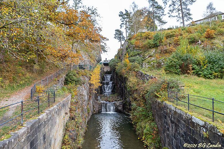 1800 års slussled i Trollhättan