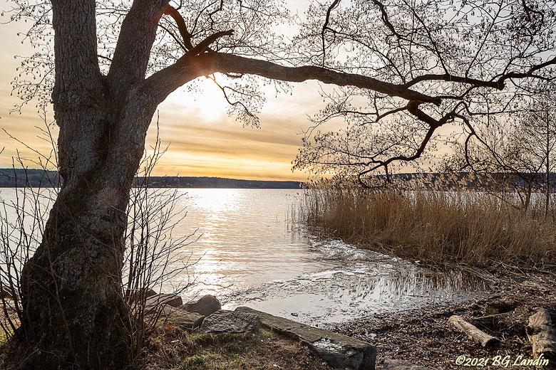 Solnedgång över Aspen