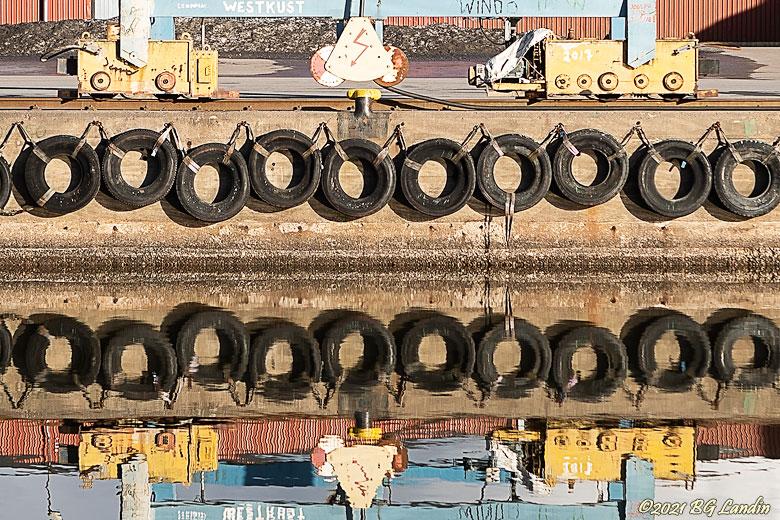 Speglade däck
