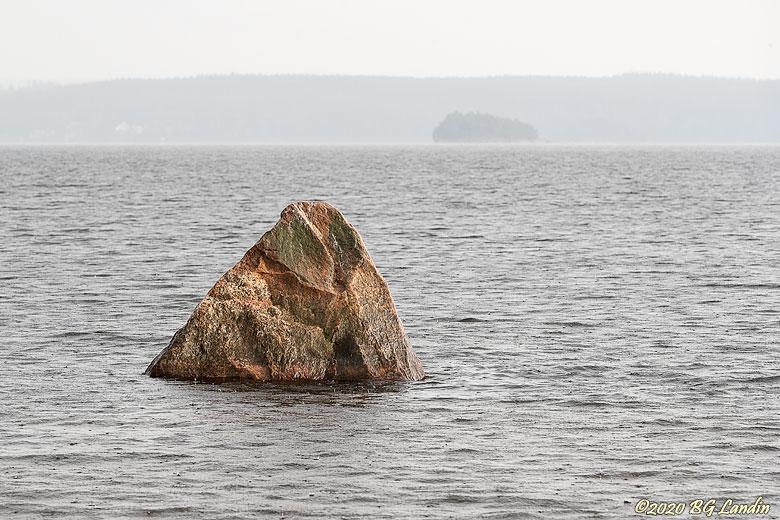 En sten i Mjörn