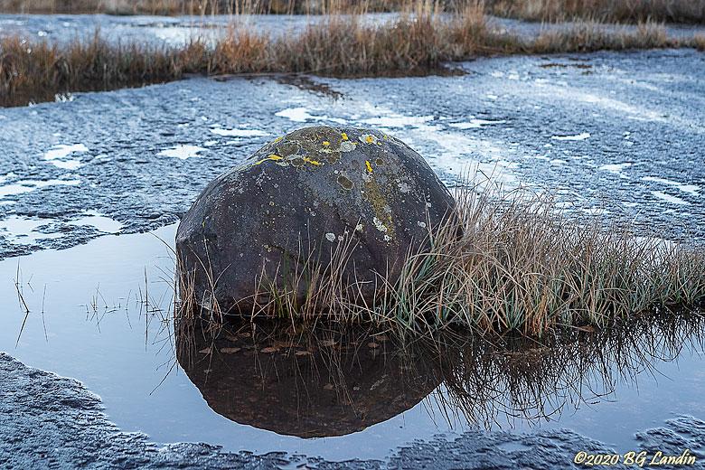 En sten på peneplanet