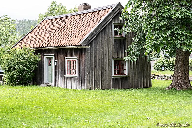 Stuga i Dergårdens Hembygdspark