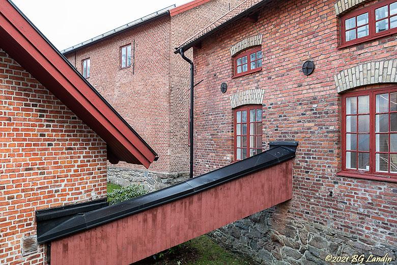 Tegelbyggnader vid Nääs fabriker
