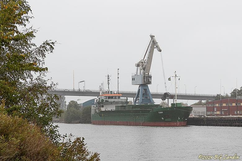 Tuna i Vänersborgs hamn