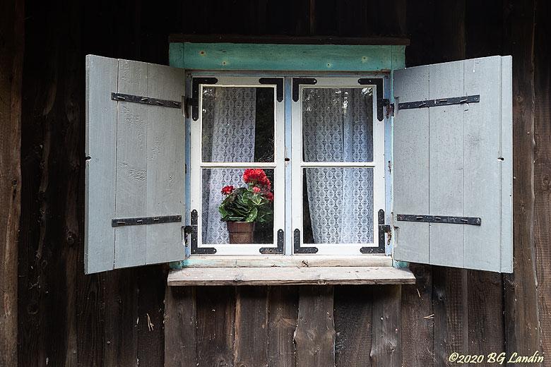 Välkomnande fönster