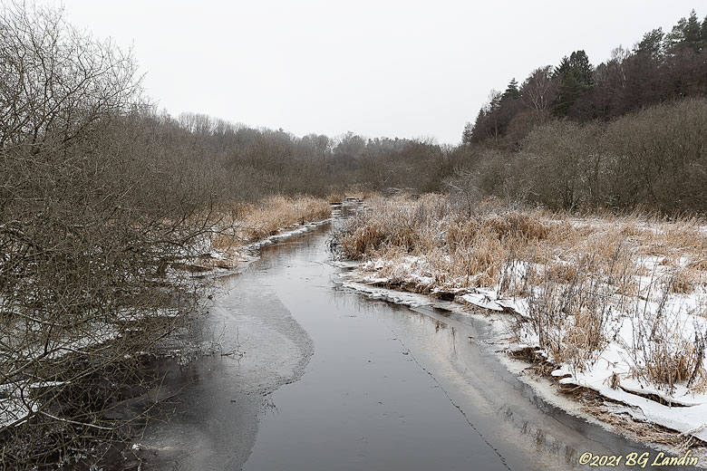 Vinter vid Kyllingsån