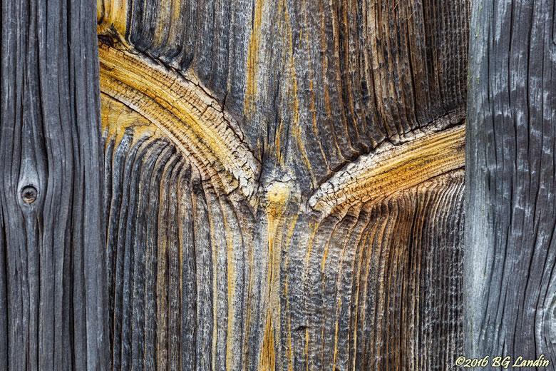 Åldrat trä