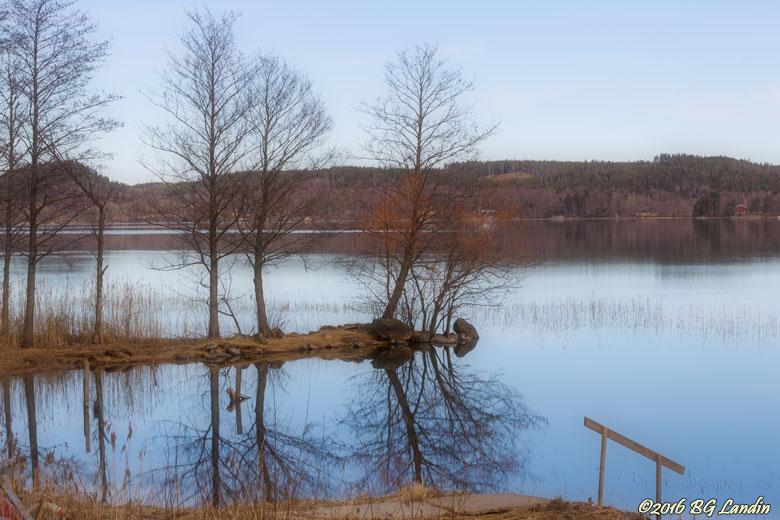 Sjön Anten vid Kvarnabo