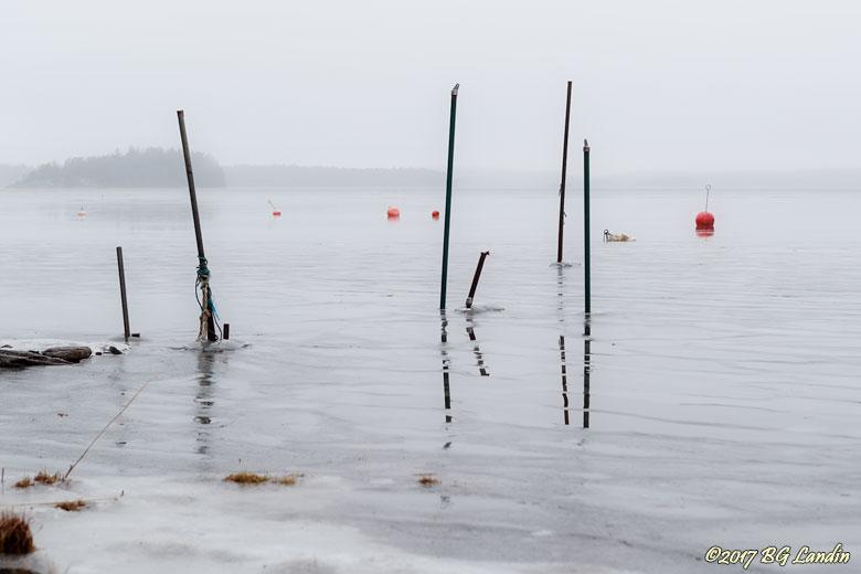 Båtplats i vintertid