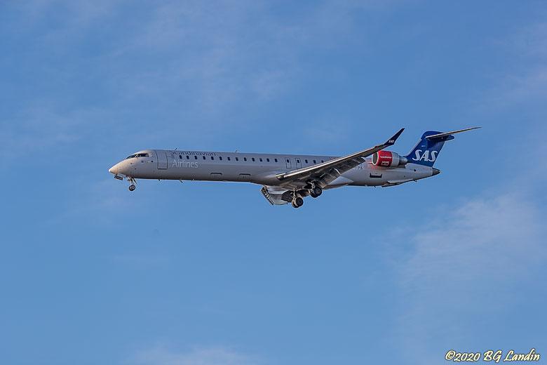 Bombardier under inflygning