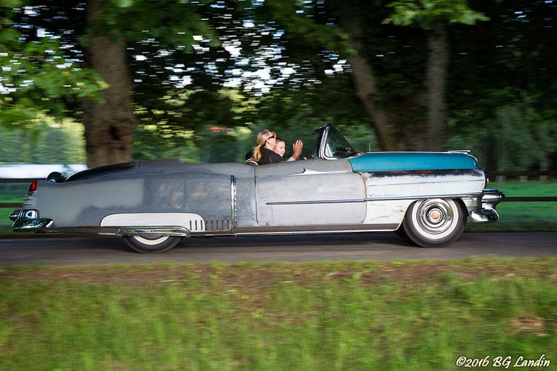 Flerfärgad Cadillac