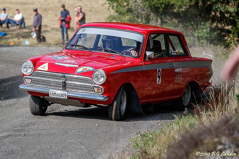 Ford Cortina GT - en rallyklassiker