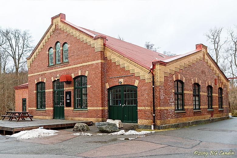 Gammal industribyggnad