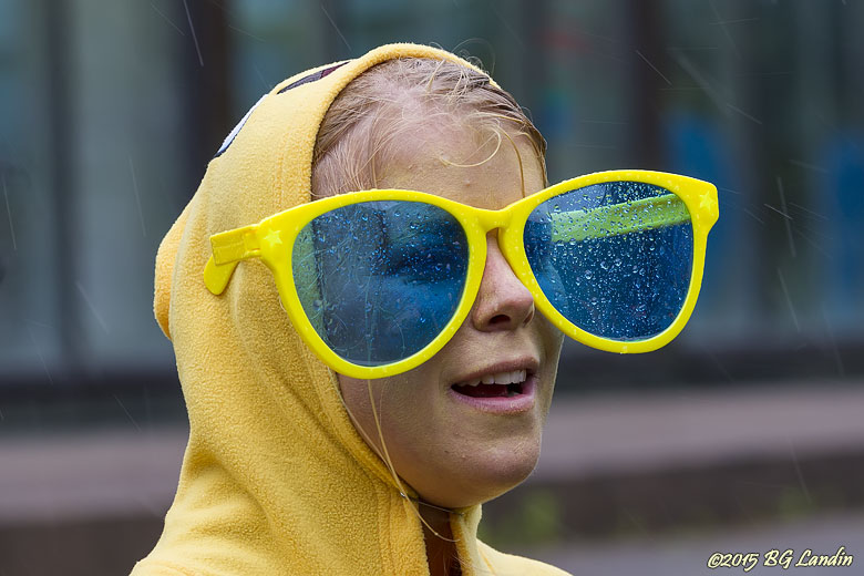 Skyddande glasögon