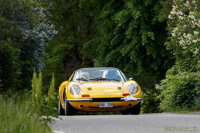 En gul Dino