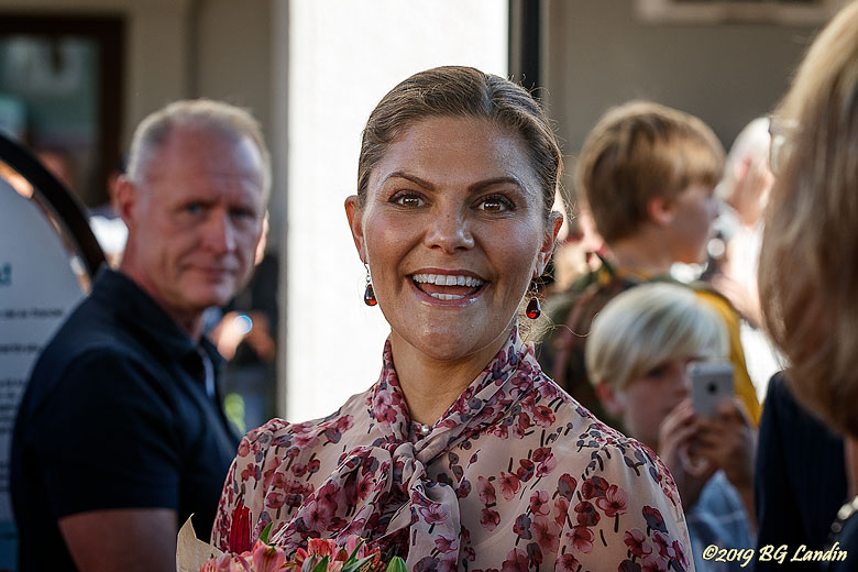 Kronprinsessan besöker Alingsås