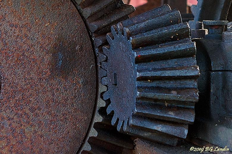 Kugghjul till timmervinsch