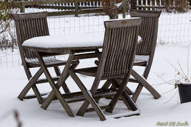 Plats för vila även vintertid