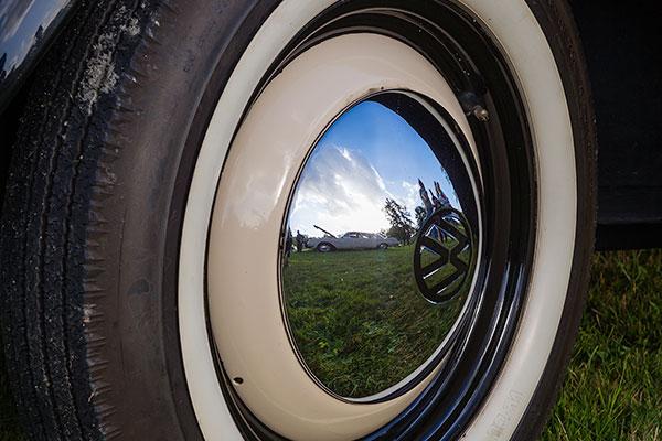 Blank VW-navkapsel