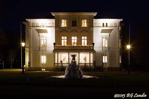 Nolhaga slott en kall novemberkväll