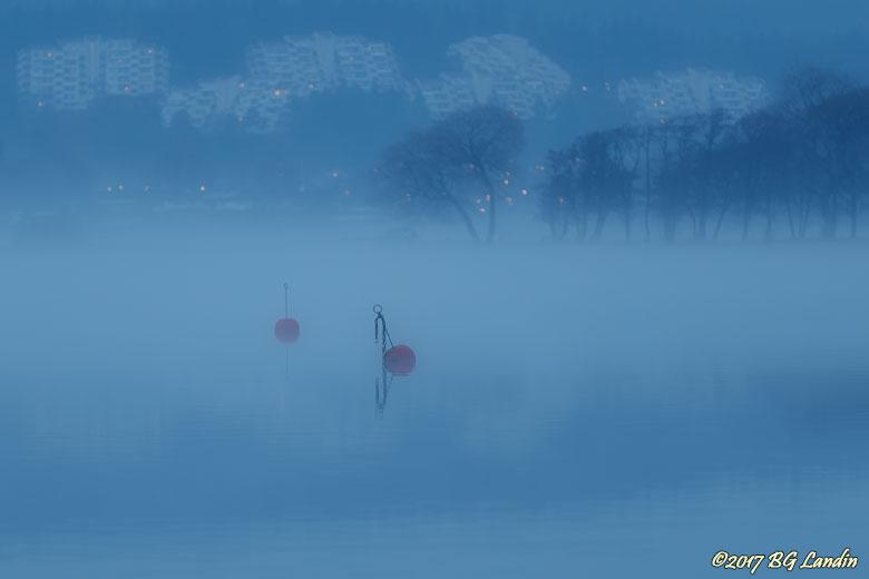 Oh boj, vilken vacker dimma