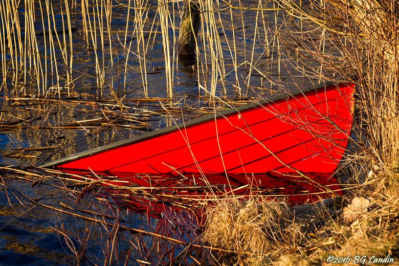 Övervintrad båt