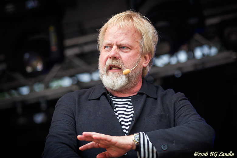 Peter Apelgren på Potatisfestivalen