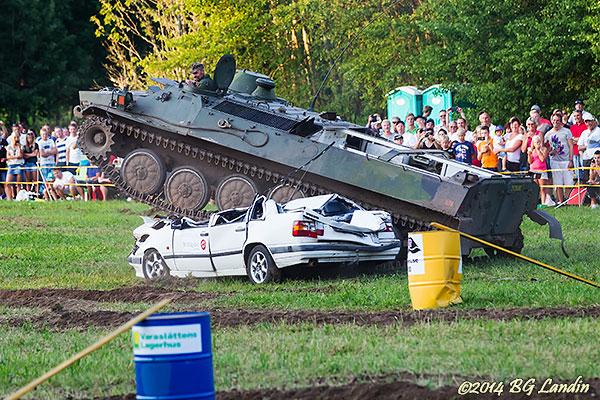 Rysk stridsvagn i Södra Lundby