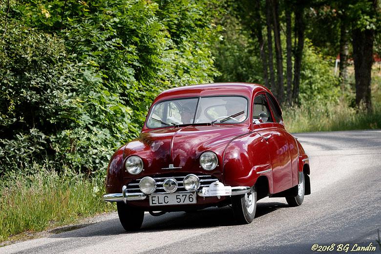 Vinröd Saab 92