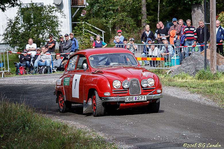 Saab tvåtaktare i Strömkarlen 2018