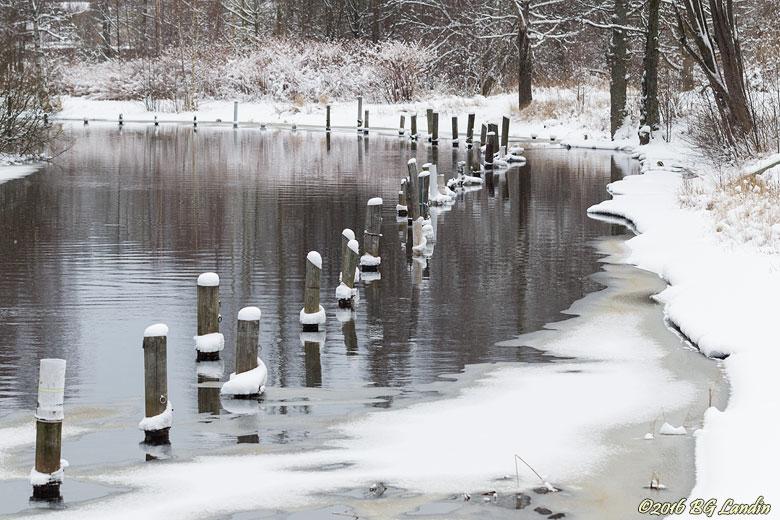 Säveån i vintertid