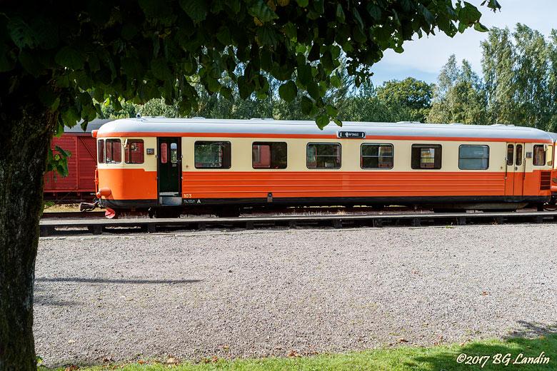 Sista tåget från Anten 2017