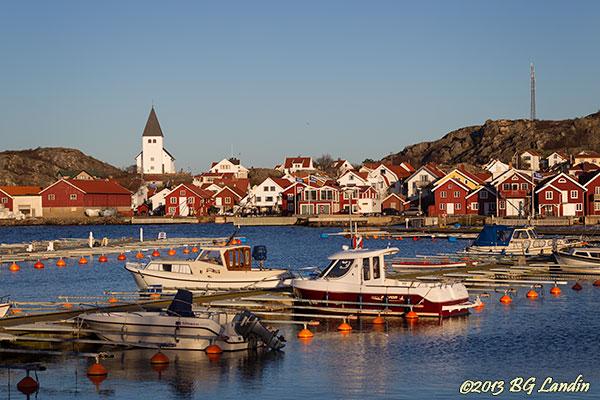 Hamnmiljö i Skärhamn