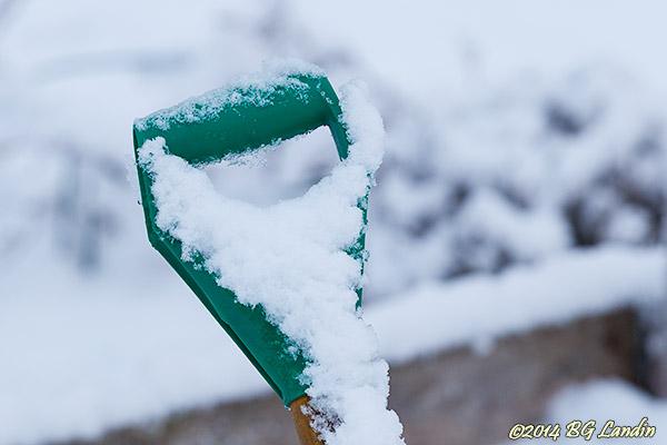 Snöigt handtag