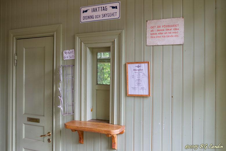 Biljettexpedition i Gräfsnäs